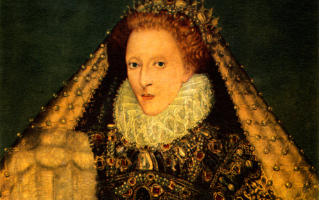 Queen Elizabeth I, Queen regnant of England and Queen regnant of Ireland from 17 November 1558 until her death, 7 September 1533