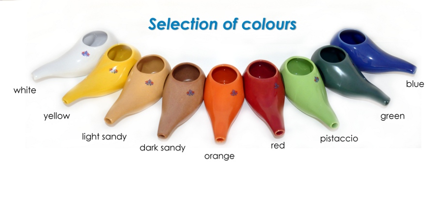 selection of colours